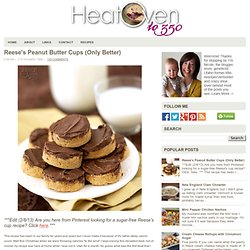Reese's Peanut Butter Cups (Only Better)