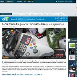 Le SNJV refait le point sur l'industrie française du jeu vidéo