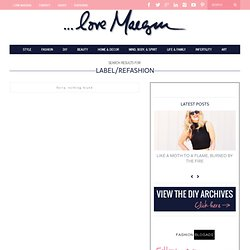 ...love Maegan : refashion Fashion + DIY + Home + Lifestyle