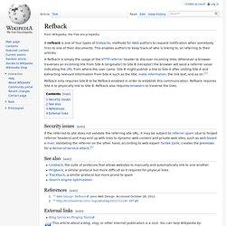 Refback