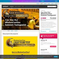 Can Vies Viu! </br>Única solució</br>RECONSTRUCCIÓ!