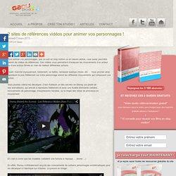 2 sites de référence vidéo pour l'animation