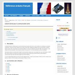Référence Arduino français