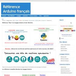 Référence Arduino français Main/Reference Maxi