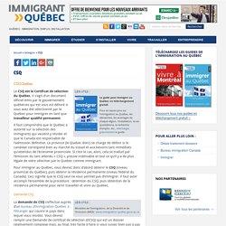 CSQ - Le site de référence sur l'immigration et la vie au Québec