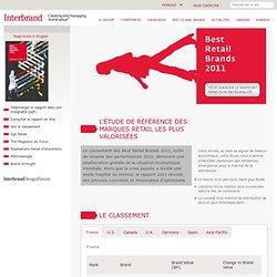 Best Retail Brands 2011 - L'étude de référence des marques retail les plus valorisées
