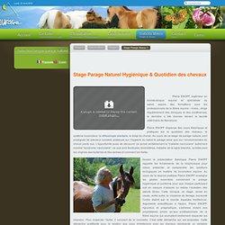 - La référence en Parage Naturel Stage et Clinique