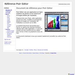 Référence Pixlr Editor