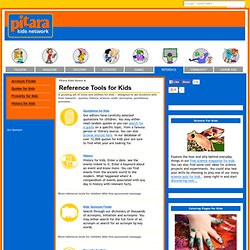 Reference Tools for Kids: Research utility for children