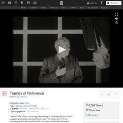 Frames of Reference : Richard Leacock