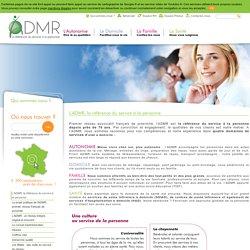 L'ADMR, la référence du service à la personne