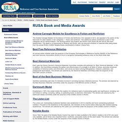 Reference & User Services Association (RUSA)
