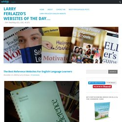 The Best Reference Websites For English Language Learners