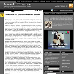 Le muscle referencement