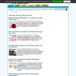 Référencement Google : tutoriels, actualités, conseils, forum