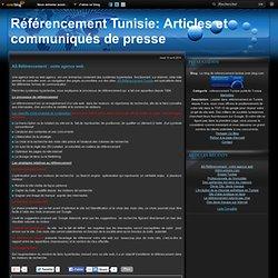AS Référencement : votre agence web - Le blog de referencement-tunisie.over-blog.com