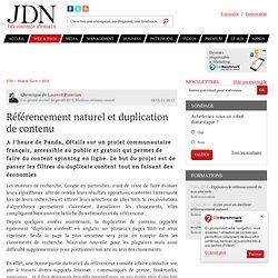 Avis d'expert : Référencement naturel et duplication de contenu par Laurent Piranian – Tribune Solutions
