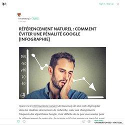 RÉFÉRENCEMENT NATUREL : COMMENT ÉVITER UNE PÉNALITÉ GOOGLE [INFOGRAPHIE]