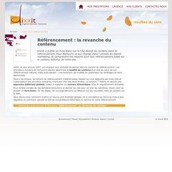 Livre blanc référencement : la revanche du contenu - Dixxit, L'agence éditoriale interactive