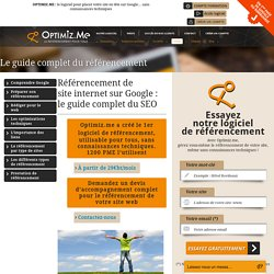 Le guide complet du référencement - Optimiz.me