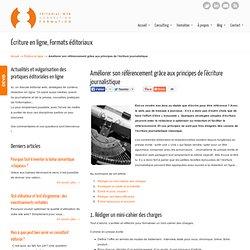 Améliorer son référencement grâce à l'écriture journalistique - Editorial Web