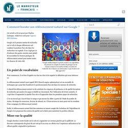 Booster son référencement sur Google