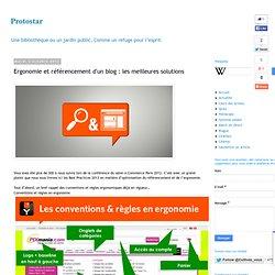 Ergonomie et référencement d'un blog : les meilleures solutions