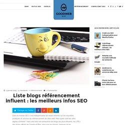 Liste blogs référencement influent : les meilleurs infos SEO ⋆
