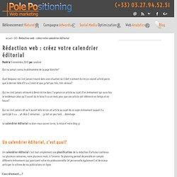 Rédaction web : créez votre calendrier éditorial