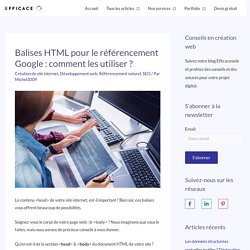 Balises HTML & SEO