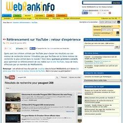 Des pistes pour être 1er sur YouTube (référencement moteur de recherche interne)