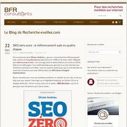 SEO zéro euro : le référencement web en quatre étapes - Recherche éveillée