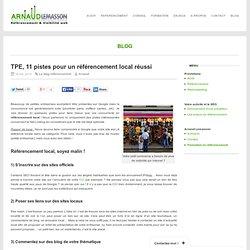 TPE, 11 pistes pour un référencement local réussi