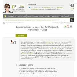 Comment optimiser vos images dans WordPress pour le référencement et Google