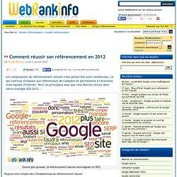 Le référencement en 2012 : les tendances et les conseils d'Olivier Duffez