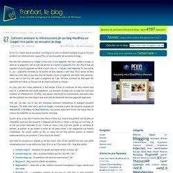 Comment améliorer le référencement de son blog Wordpress sur Google? 1ère partie: les annuaires de blogs