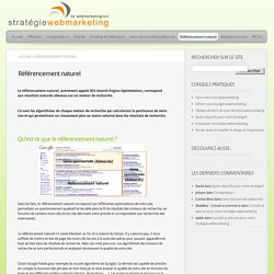 Stratégie Webmarketing & Emarketing