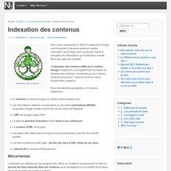 Référencer votre site et indexer ses contenus dans les moteurs - NLG