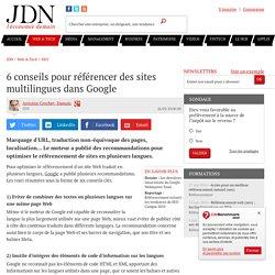 6 conseils pour référencer des sites multilingues dans Google