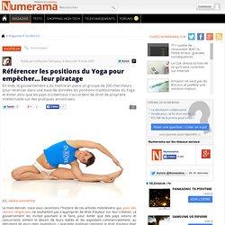 Référencer les positions du Yoga pour empêcher... leur piratage