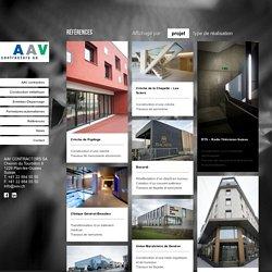 Références - AAV Contractors AAV Contractors