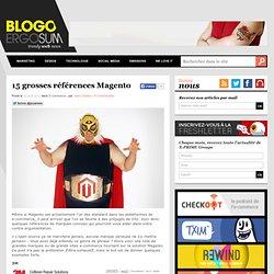 15 grosses références Magento