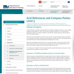 Grid References and Compass Points: Level 5