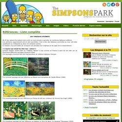 Références : Liste complète - The Simpsons Park : Toute l'actualité des Simpson