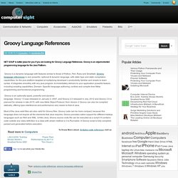 Groovy Language References