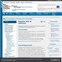 Quelques sites de références — Documentation (CDI)
