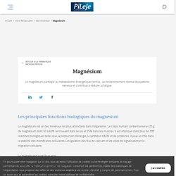Magnésium : Rôle, Références Nutritionnelles, Sources & Apports