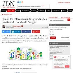 Quand les référenceurs des grands sites profitent du doodle de Google