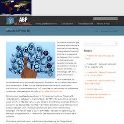 Sitios de referencia ABP – Aprendizaje basado en problemas