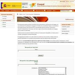 Centro de Referencia Estatal de Autonomía Personal y Ayudas Técnicas